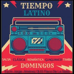 Flyer tiempo latino