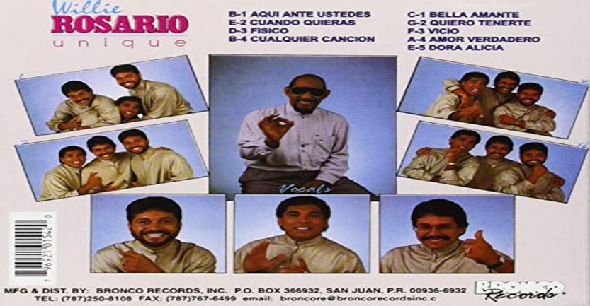 """En este momento estás viendo El álbum de la semana – Unique """"Willie Rosario"""""""